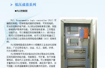 低压成套系列:PLC控制柜