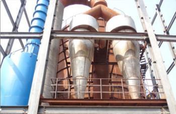 2012年华信公司离心喷雾干燥塔项目