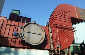 2014年济南南郊电厂脱硫除尘项目