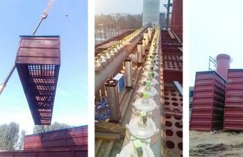 2016年山东宁津县利宁热源除尘项目