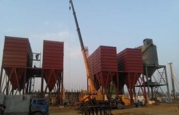 2016年唐山乐亭县集中供热4x70MW锅炉布袋除尘项目